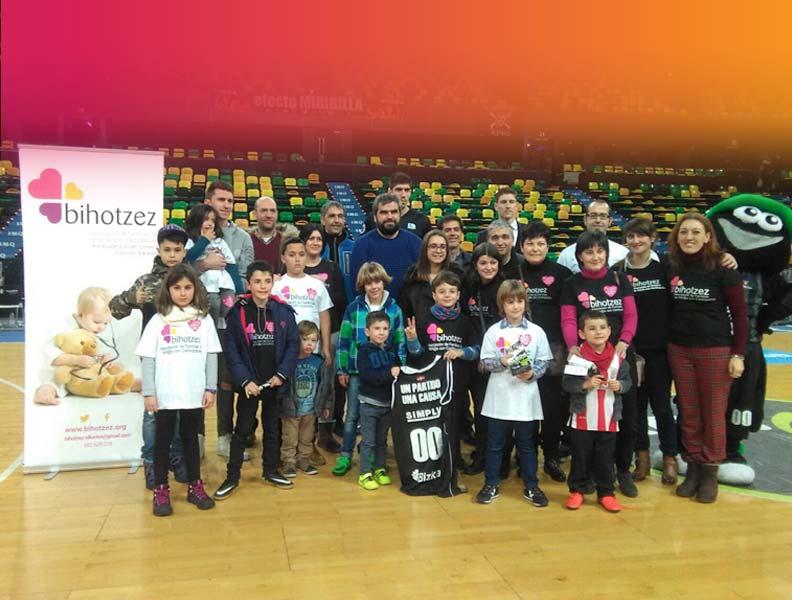 Muchas gracias a la Fundación Bilbao Basket