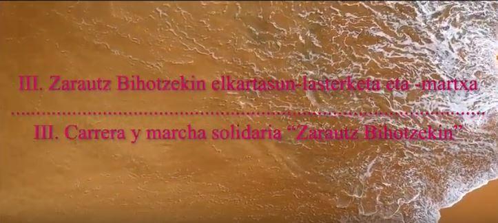 carrera y marcha solidaria zarautz bihotzekin Bihotzez asociacion cardiopatias congenitas donostia bilbao euskadi